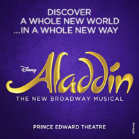 Book Tickets for Aladdin London