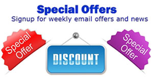 Special Offer Emails and Discounts