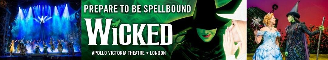 Wicked The Musiacl at Apollo Victoria Theatre London