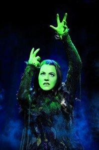 Rachel Tucker as Elphaba in Wicked