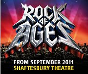 Rock of Ages Shaftesbudy Theatre September 2011