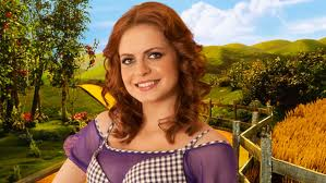 Sophie Evans as Dorothy in The Wizard of Oz