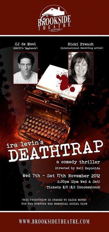 DEATHRAP at Brookside Theatre