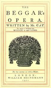 The Beggar's Opera written by John Gay