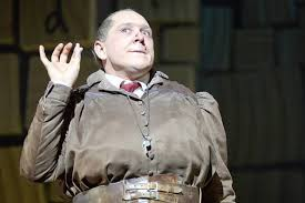 Bertie Carvel as Miss Trunchbull in Matilda The Musical