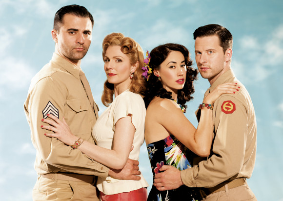 Darius Cambell, Rebecca Thornhill, Siubhan Harrison and Robert Lonsdale star in the musical adaption of From Here To Eternity, opening at the Shaftesbury Theatre in October 2013 (previews from September)