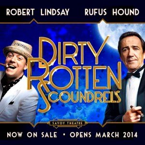 Dirty Rotten Scoundrels Tickets now on Sale
