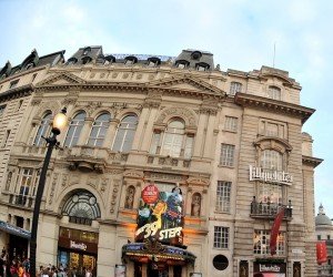 Criterion Theatre with The 39 Steps showing