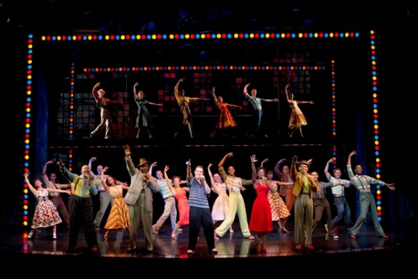 MEMPHIS. Broadway cast. Photo credit Joan Marcus