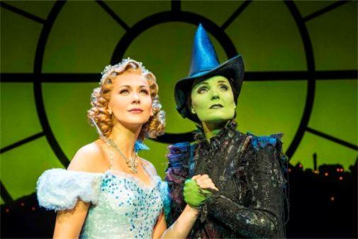 Wicked the musical Apollo Victoria Theatre