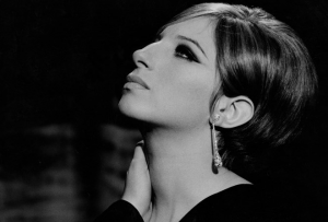 Barbra Streisand as Fanny Brice in Funny Girl photograph