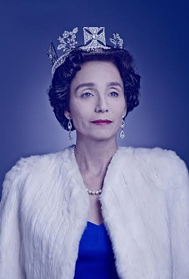 Kristin Scott Thomas as The Queen in The Audience