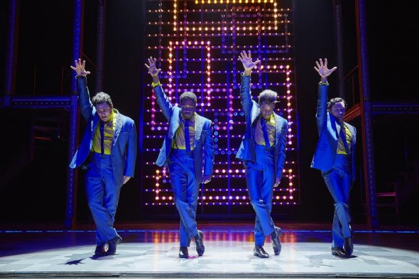 The Drifters in Beautiful The Carole King Musical