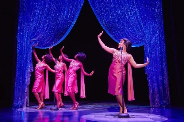 The Shirelles in Beautiful Carole King Musical