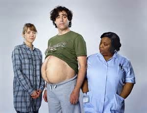 Stephen Mangan recently appeared on TV to promote his role in Sky Art's television adaption of the stage play Birthdays