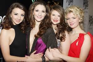 The Strallen sisters: Scarlett, Summer and Zizi appear in concert with Anna-Jane Casey and Natalie Casey for West End concert