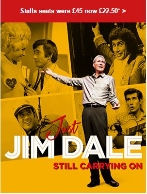 Just Jim Dale Ticket offer
