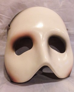A replica of the mask from The Phantom of the Opera: Should there be more collectable items like this available to musical theatre fans?