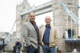 Nicholas Hytner and Nick Starr. Photo credit Helen Maybanks