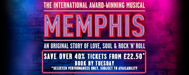 Book Memphis The Musical Tickets