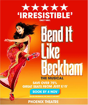 Bend It Like Beckham Ticket Offer