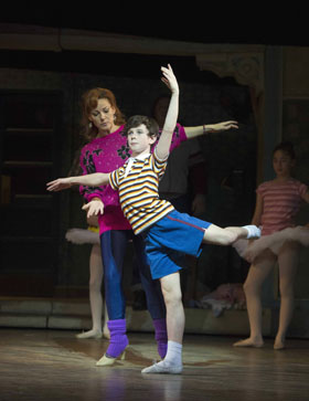Ruthie Henshall and Matteo Zecca in Billy Elliot the Musical