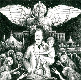 Nunkie Time Machine Illustration by Paul Lowe