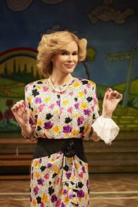 Amanda Holden (Vera) in Stepping Out. Photo credit Ray Burmiston.