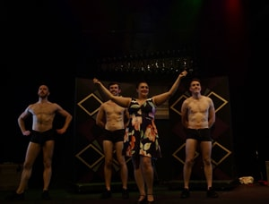 Boys in the Buff - Stockwell Playhouse