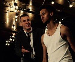 Rhys Yates (Simeon) & Nebiu Samuel (Darren)