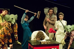 Elephant Steps at the Arcola Theatre