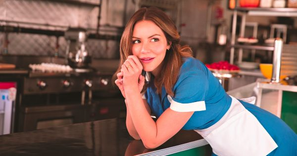 Katharine McPhee as Jenna in Waitress