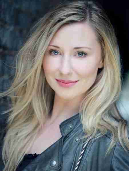 Louise Bowden appearing in Singin' In The Rain Palace Theatre London