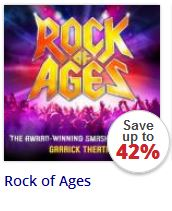Rock of Ages at the Garrick Theatre London