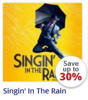Singin In The Rain at the Palace Theatre London