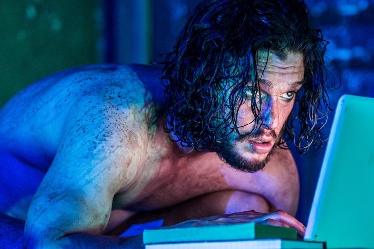 Kit Harington in Doctor Faustus. Running at the Duke of York's Theatre London until 25 June 2016 CREDIT Marc Brenner