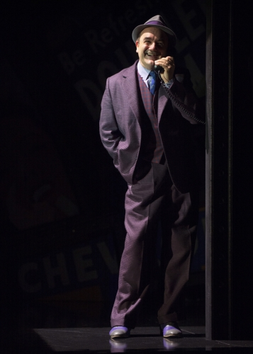 David Haig (Nathan Detroit) in Guys and Dolls - photo by Paul Coltas