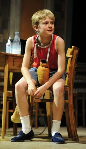 Scott McKenzie as Billy Elliot (photo by Alastair Muir)