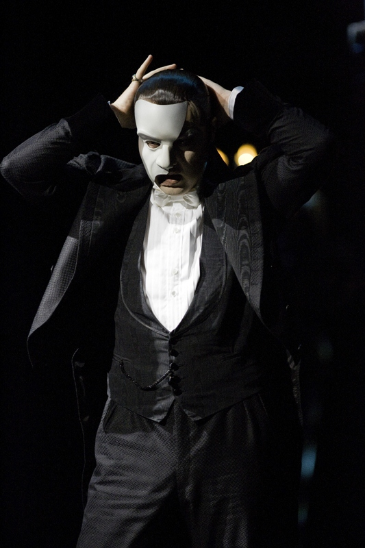John Owen-Jones as The Phantom in The Phantom of The Opera