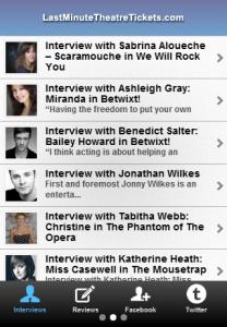 London Theatre App