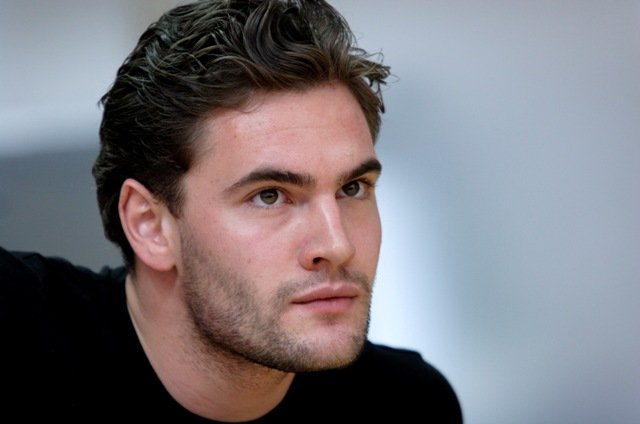 Tom Bateman (Richard) in rehearsals for The Lion In Winter at Theatre Royal Haymarket. Photo credit Catherine Ashmore