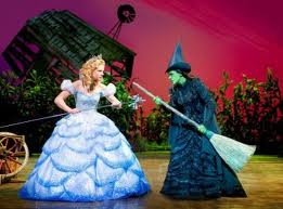 Wicked the Musical Elphaba and Glinda