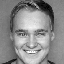 Ross Hunter is currently appearing in The Book of Mormon at the Prince of Wales Theatre