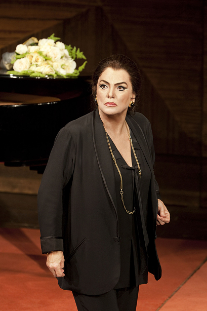 Tyne Daly as Maria Callas in Master Class Photo by Johan Persson