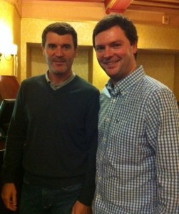 Roy Keane and Lewis Polden