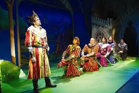 Spamalot Stage scene