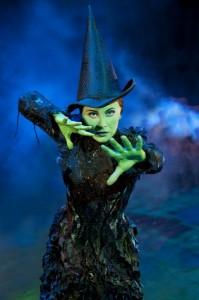 Louise Dearman as Elphaba in Wicked