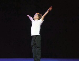 Billy Elliot played by Harrison Dowzell