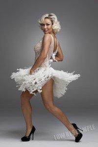 Kristina Rihanoff dancing