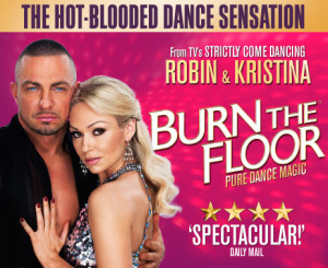 Kristina Rihanoff and Robin Windsor in Burn The Floor